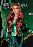 Poison Ivy Shenae Grimes dressed as the Batman villain.