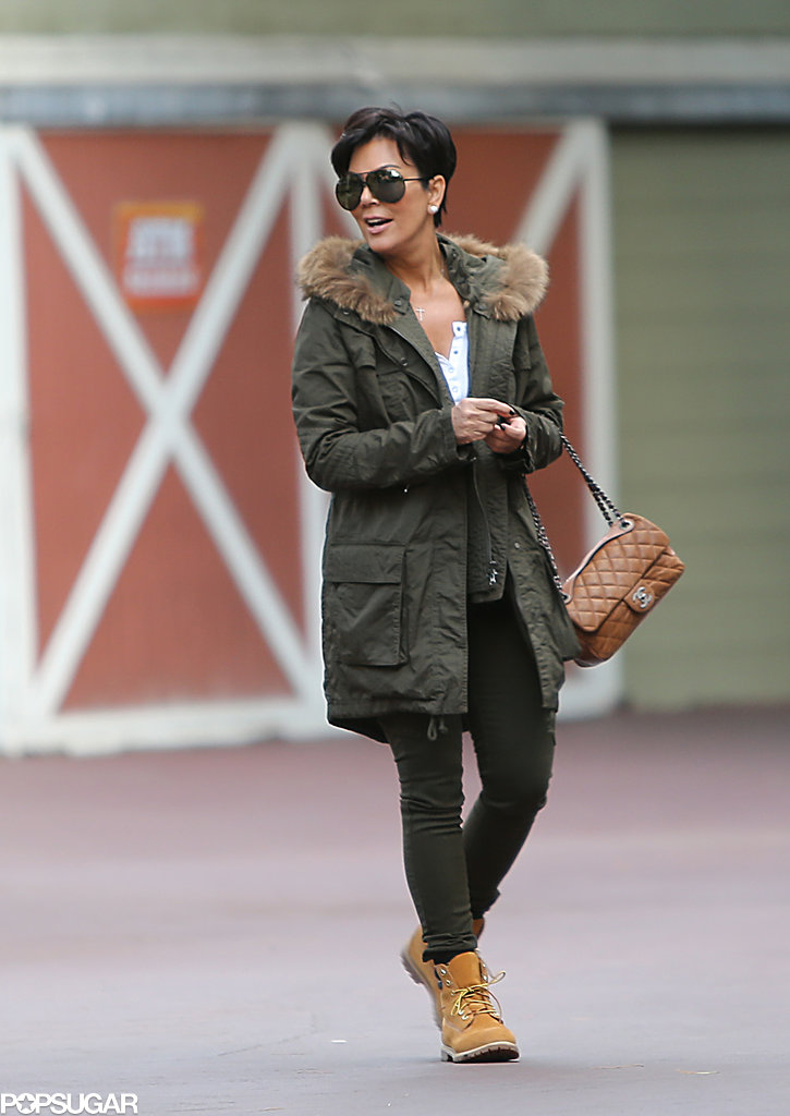 Kris Jenner was part of the huge group to rent out Six Flag Magic Mountain.