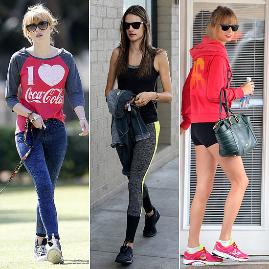 Spotted: 22 Celebrities Sweat it Out This Month