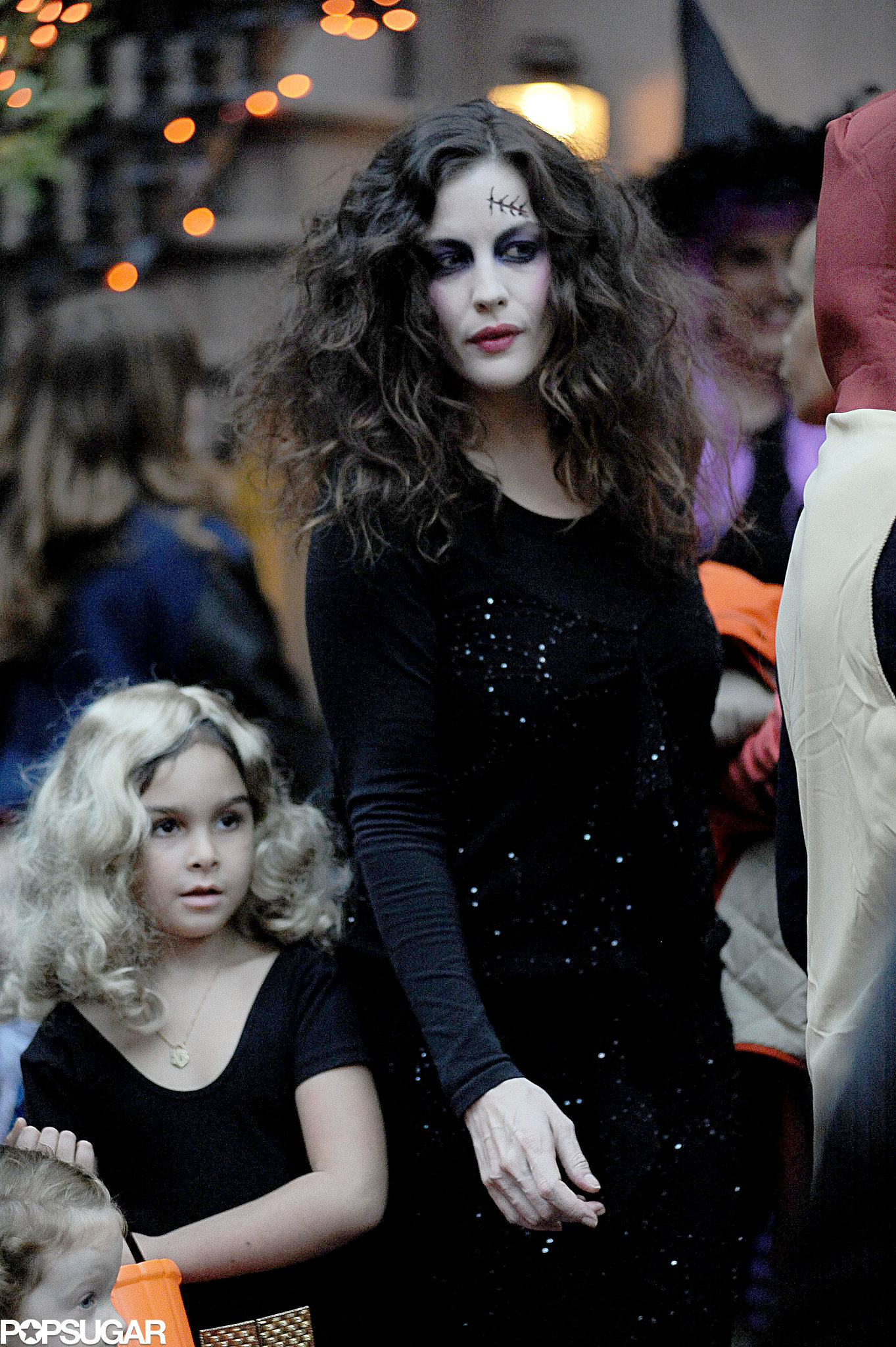 Liv Tyler looked ghoulish while out trick-or-treating in NYC.