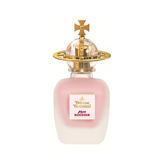 The newest scent from Vivienne Westwood is a mix of fruity notes like pear and mandarin with a healthy dose of Lily of the Valley. But it's the sandalwood finish of Mon Boudouir ($56) that stops this perfume from getting too girlie, leaving a seductive yet feminine finish.
