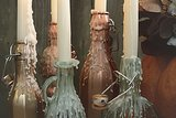 The Ambience: Metallic Drip Bottles