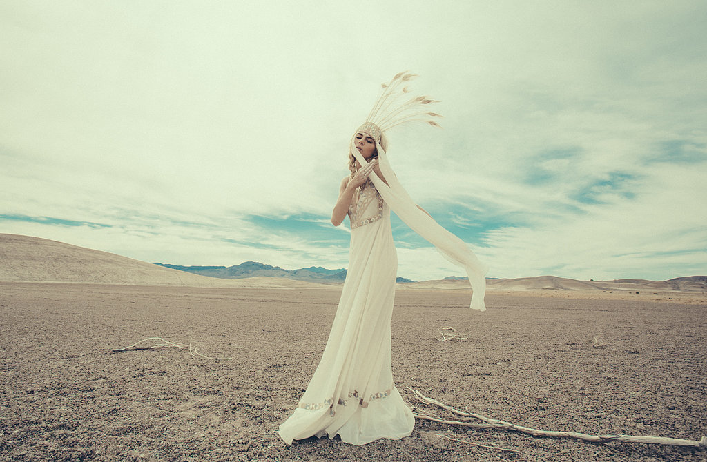 Mara Hoffman Bridal Fall 2013 photographed by Olivia Malone and styled by Richard Ruiz. Source: Mara Hoffman