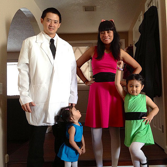 Powerpuff Girls and Professor Utonium