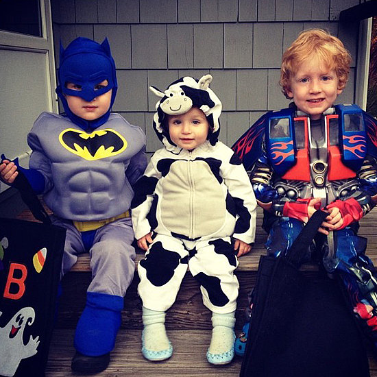 Batman, Cow, and Transformer