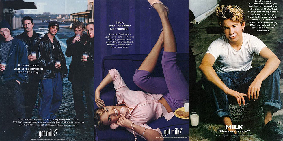 The Most '90s-tastic Got Milk? Ads