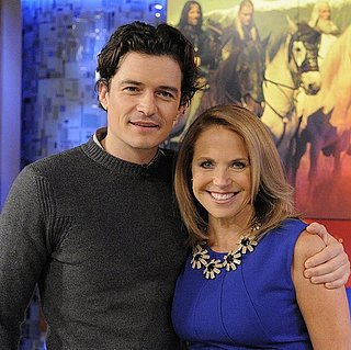 Orlando Bloom Talks About Miranda Kerr With Katie Couric