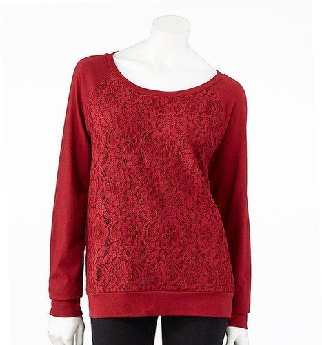 Lc lauren conrad lace sweater