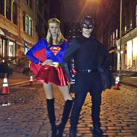 Supergirl and Batman Kenny Wormald and his girlfriend had a super Halloween. Source: Instagram user kennywormald