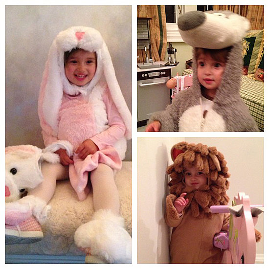One costume wasn't enough for Arabella Kushner.  Source: Instagram user ivankatrump