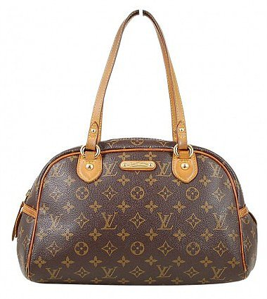 very good (VG) Louis Vuitton Monogram Canvas Montorgueil PM Tote Bag