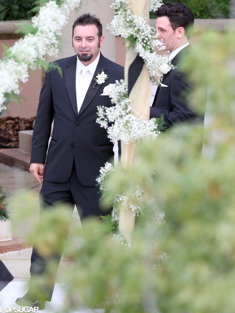 Chris Kirkpatrick got married in Orlando, FL.