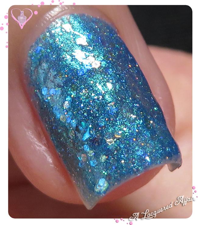 Delush Polish Ocean Sapphire