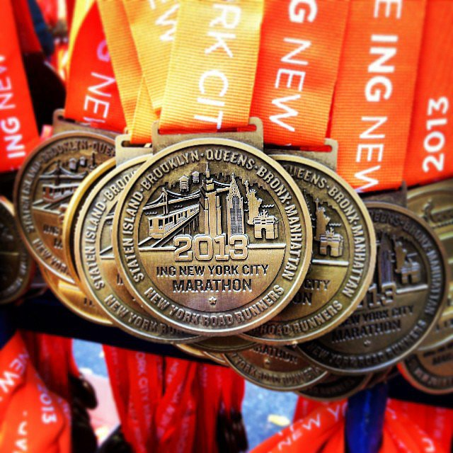 A sneak peek at the medals waiting for every participant who crosses the finish line. Source: Instagram user kata_razzi