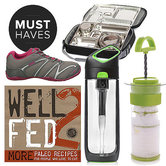 Slip on your lightweight dancing shoes, throw a stainless steel lunch box and self-filtering water bottle in your bag, and head out the door for a proactive November. What's giving us all the energy to stay on the go this holiday season? A clean-eating Paleo diet, of course. Read on to see all the POPSUGAR Fitness team's healthy must haves for November!