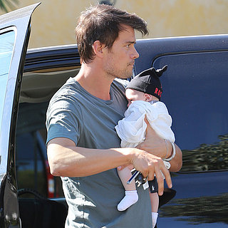 Josh Duhamel Carrying Baby Axl | Photos