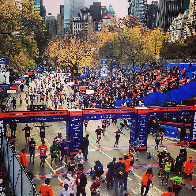 Success at the finish line. Source: Instagram user d_espinal1989