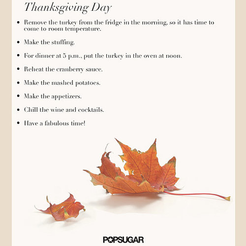 Free Thanksgiving Planner and Organizer
