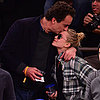 Mary-Kate Olsen and Olivier Sarkozy Showing PDA