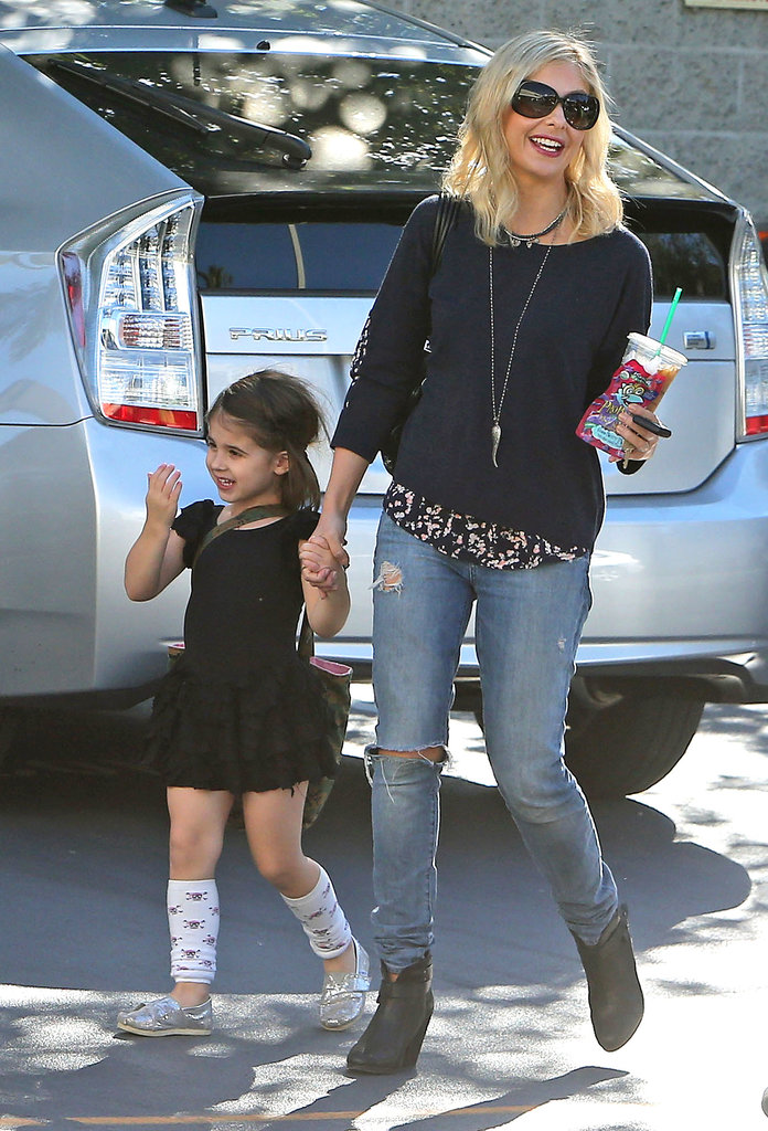 Sarah Michelle Gellar took her daughter, Charlotte, to her LA ballet class on Sunday.