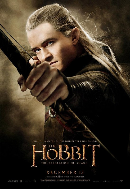 Legolas Has You in His Sights in The Hobbit Posters