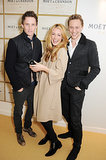 Tom Hiddleston made a ginger sandwich with Eddie Redmayne and Cat Deeley.