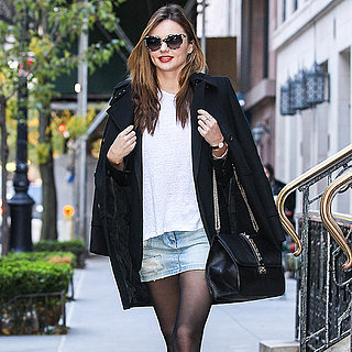 Pictures Of Miranda Kerr Walking In New York