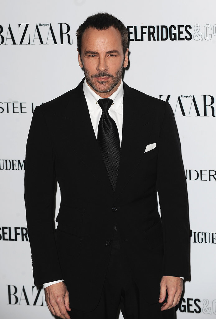 Tom Ford looked dapper at the Harper's Bazaar Women of the Year Awards.