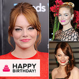 Emma Stone Turns 25! Take a Look Back at Her Best Beauty Looks