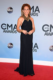 Sheryl Crow wore a sleek black dress to the CMAs on Wednesday night.