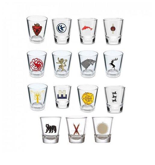 House Sigil Shot Glasses ($74, originally $105)