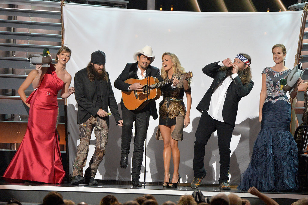 Carrie Underwood's CMAs Arrival Was Sheeriously Amazing