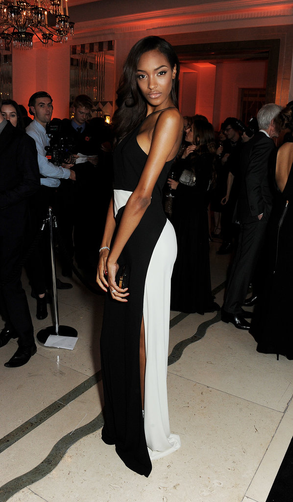 At the Harper's Bazaar UK Women of the Year Awards, Jourdan Dunn smoldered in a dramatic gown.