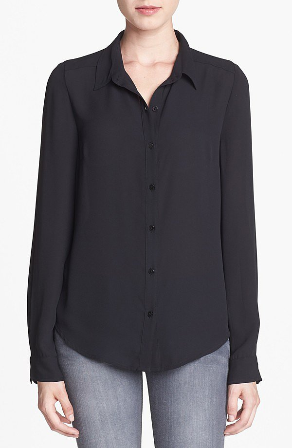 A basic button-down like this Tildon long-sleeve blouse ($48) is a workwear must.