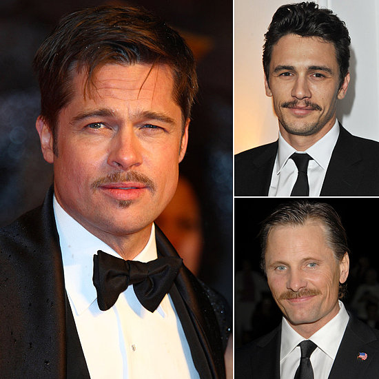 The Mustached Men of Hollywood