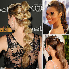 Hair Inspiration: Celebrities With Ponytails