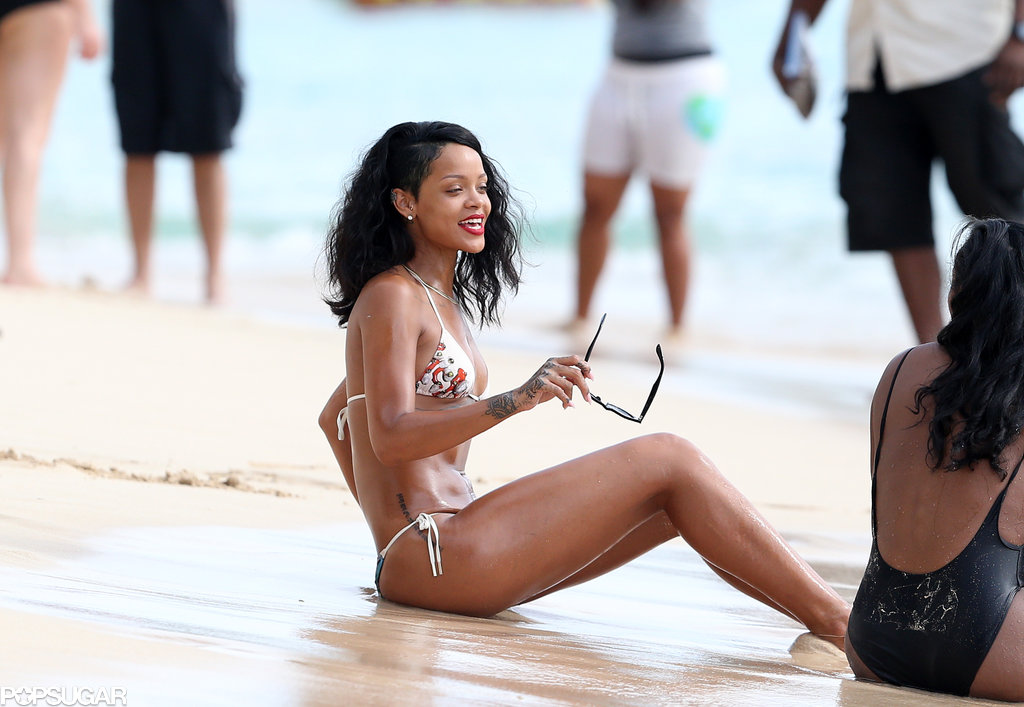 Rihanna Is Always Bikini-Ready
