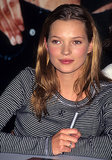 When we think of the '90s, we can't help but think of new-to-the-scene Kate Moss, with her grungy hair and girl-next-door makeup.