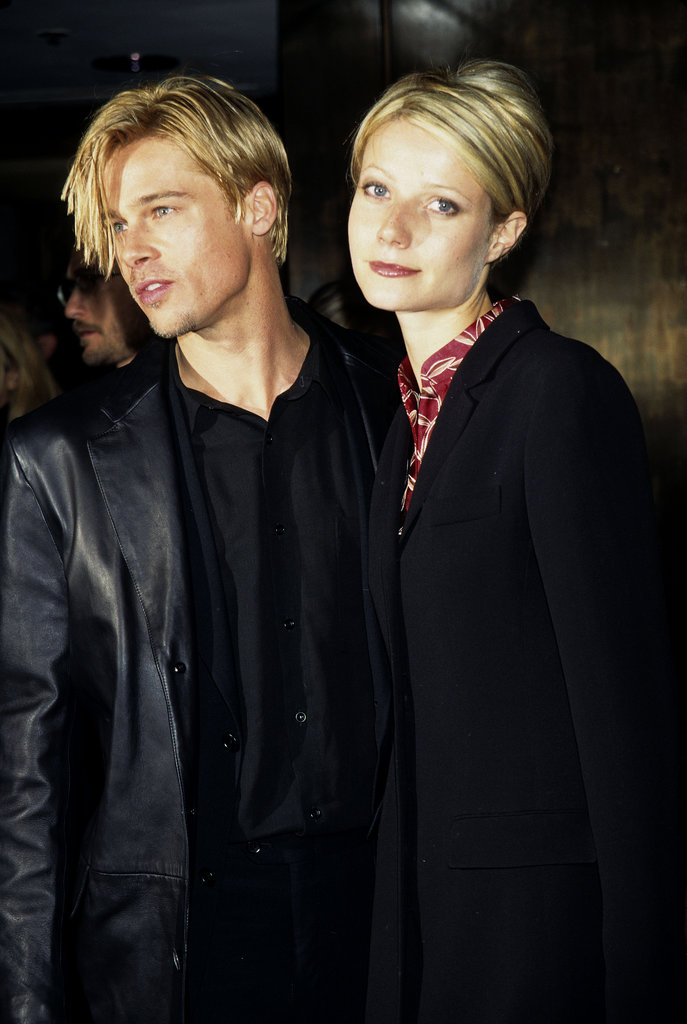 Remember when Gwyneth Paltrow and then-boyfriend Brad Pitt had matching blond hair?