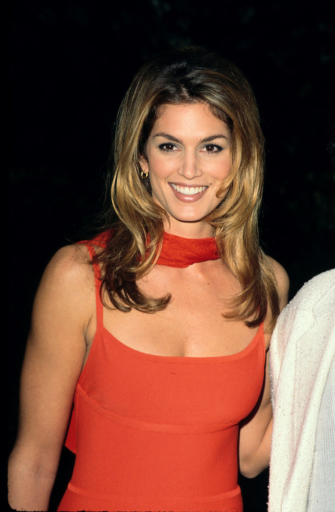 Cindy Crawford's iconic mole was regularly replicated by women with eyeliner.