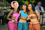 All three members of TLC owned the late '90s with their fluorescent makeup and crazy hairstyles.