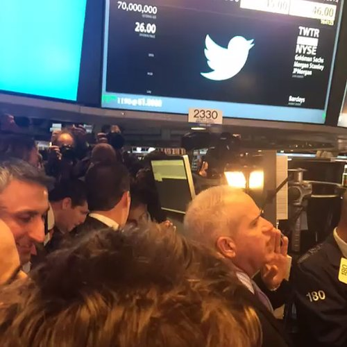 Twitter Stock Market Vine Video
