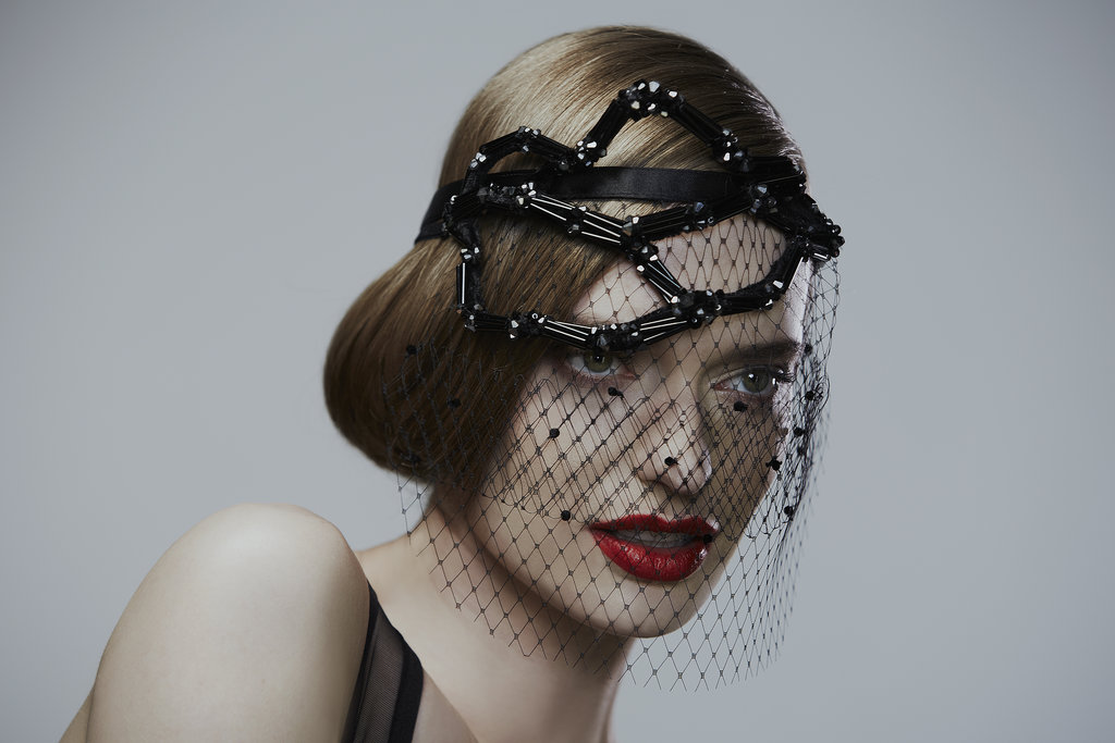 Crystal Veil ($105), Crystal Branch Headstrap ($298)