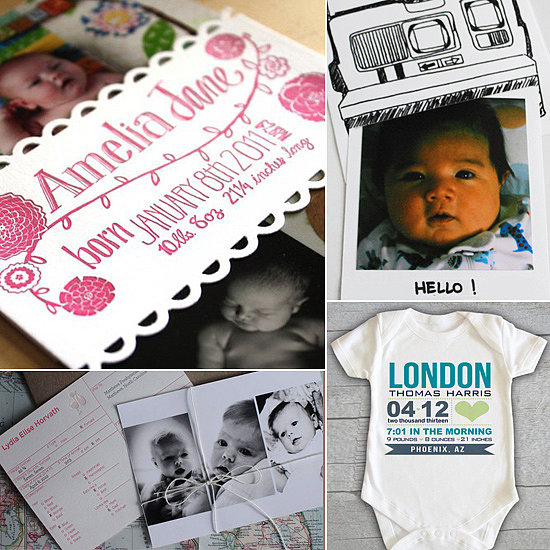 15 Creative Ways to Announce a New Arrival