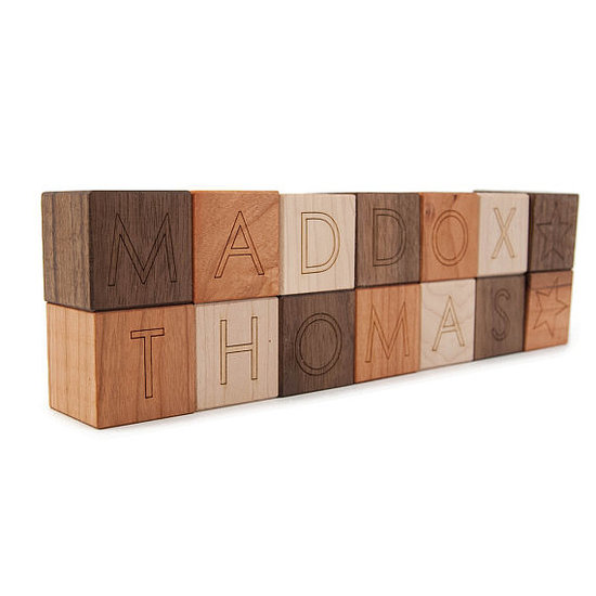 Little Sapling Toys Personalized Blocks