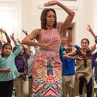 Michelle Obama Does Bollywood Dance at the White House