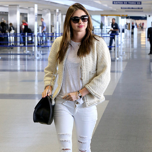 Pictures Of Miranda Kerr At The Airport & With Flynn Bloom