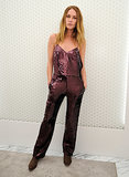 Erin Wasson proved there's no better way to celebrate the holidays with Topshop than in a head-to-toe sequined outfit.