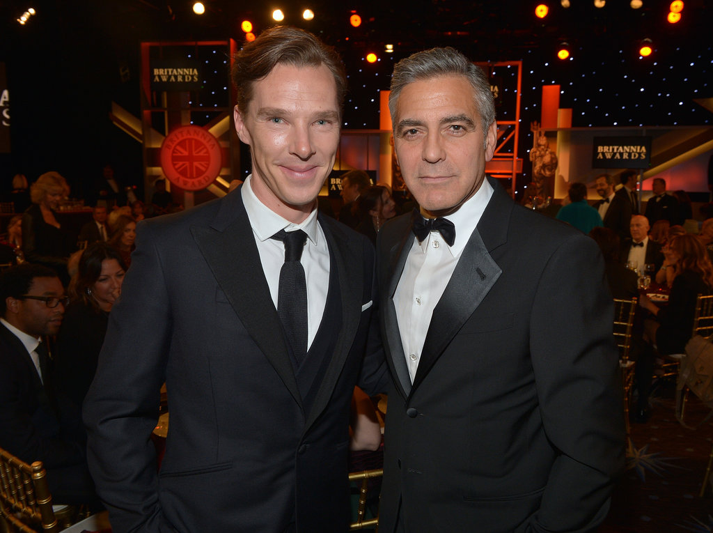 Cumberbatch and Clooney, in the Same Room at Last