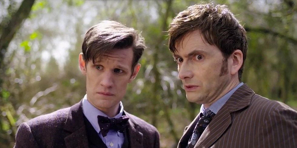 "Two Official Trailers For ""Day of the Doctor""!"